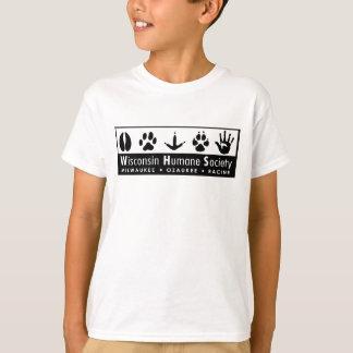 Wisconsin Humane Society Logo Tshirt