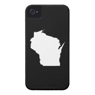 Wisconsin in White Case-Mate iPhone 4 Cases