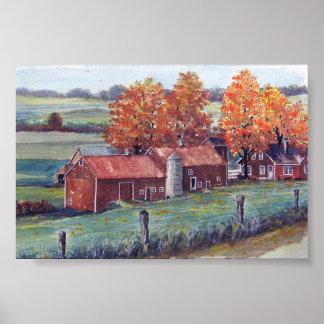 Wisconsin Landscape-poster Poster
