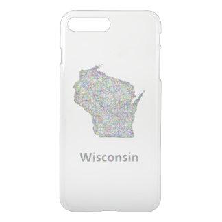 Wisconsin map iPhone 7 plus case
