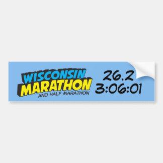 Wisconsin Marathon Post-Marathon Bumper Sticker