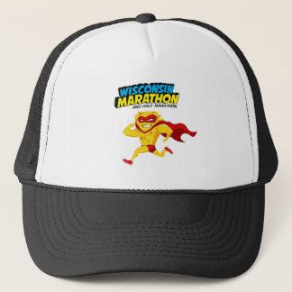 Wisconsin Marathon Race Day Trucker Hat
