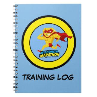 Wisconsin Marathon Training Note Book