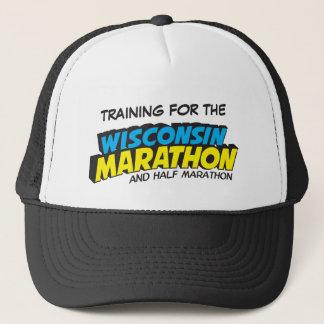 Wisconsin Marathon Training Trucker Hat