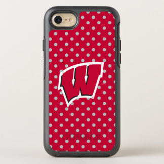 Wisconsin | Mini Polka Dots OtterBox Symmetry iPhone 8/7 Case
