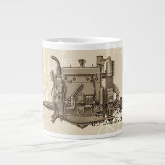 Wisconsin Motor Milwaukee Wisconsin gas engine X Large Coffee Mug