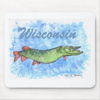 Wisconsin Muskie Mouse Mat