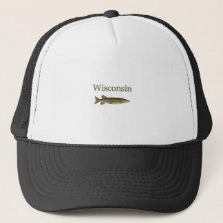 Wisconsin Musky Trucker Hat