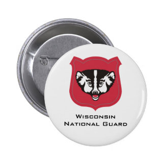 Wisconsin National Guard Insignia - Customized 6 Cm Round Badge