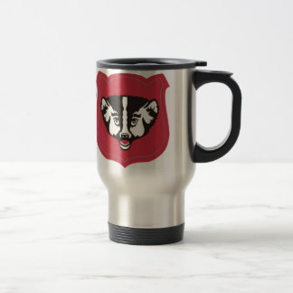 Wisconsin National Guard Insignia Travel Mug