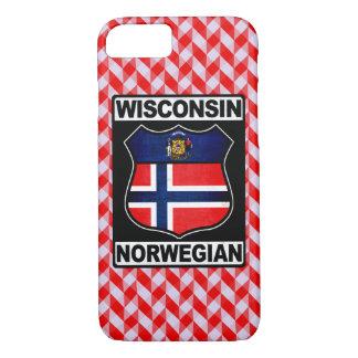 Wisconsin Norwegian American Phone Cover