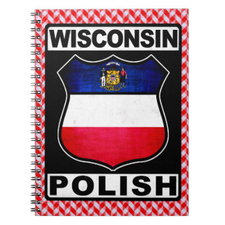 Wisconsin Polish American Notepad Notebook