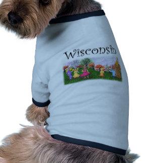 Wisconsin Princess Cows Doggie Tee