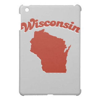 WISCONSIN Red State Case For The iPad Mini