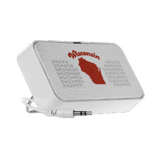 WISCONSIN Red State PC Speakers