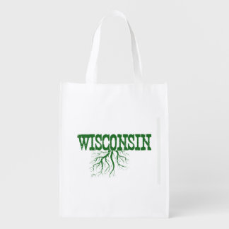 Wisconsin Roots Reusable Grocery Bag