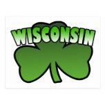 Wisconsin Shamrock Postcard