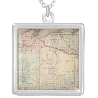 Wisconsin Silver Plated Necklace