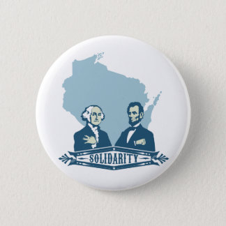 Wisconsin Solidarity 6 Cm Round Badge
