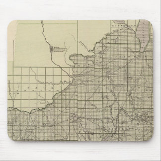 Wisconsin South part Mouse Mat