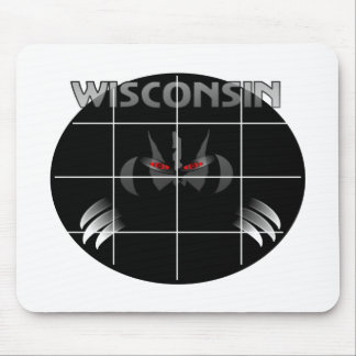 Wisconsin State Badger Design Mouse Mat