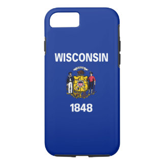 Wisconsin State Flag Design iPhone 7 Case