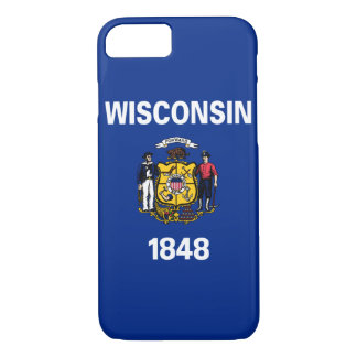 Wisconsin State Flag iPhone 7 Case