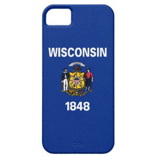 wisconsin state flag united america republic symbo iPhone 5 cases