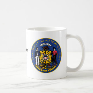 Wisconsin State Seal and Motto Coffee Mug
