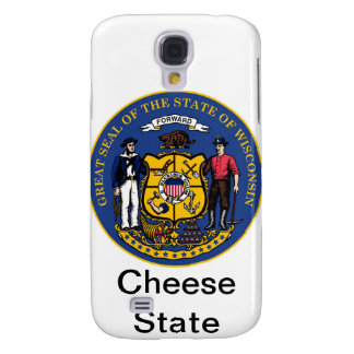 Wisconsin State Seal and Motto Galaxy S4 Case