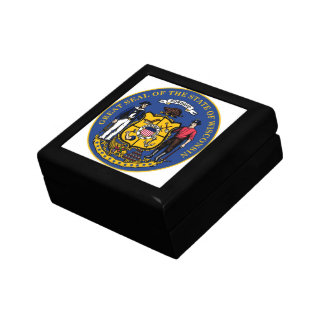 Wisconsin State Seal Gift Box