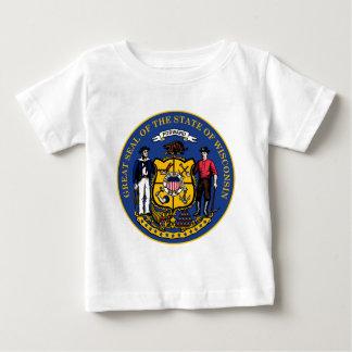 Wisconsin state seal.jpg baby T-Shirt