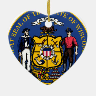Wisconsin state seal.jpg christmas ornament