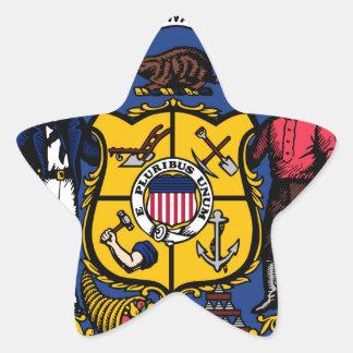 Wisconsin state seal.jpg star sticker