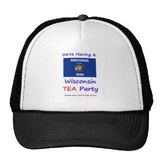 Wisconsin TEA Party - We re Taxed Enough Already Hat