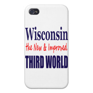 Wisconsin the New & Improved THIRD WORLD iPhone 4/4S Covers