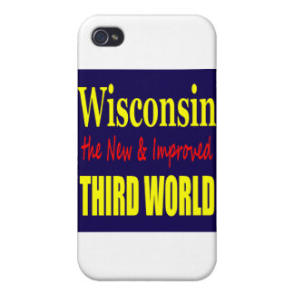 Wisconsin the New & Improved THIRD WORLD iPhone 4 Cover