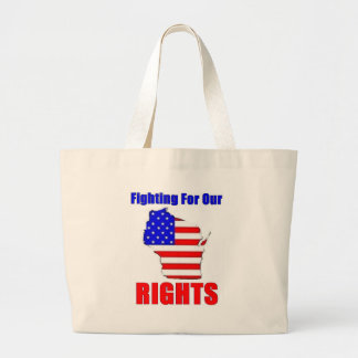 Wisconsin - Union Workers Tote Bags