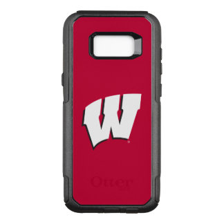 Wisconsin | University of Wisconsin Logo OtterBox Commuter Samsung Galaxy S8+ Case
