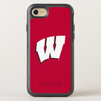 Wisconsin | University of Wisconsin Logo OtterBox Symmetry iPhone 8/7 Case