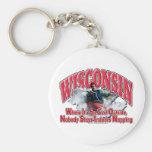 Wisconsin Whitewater Keychain