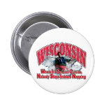 Wisconsin Whitewater Pinback Buttons