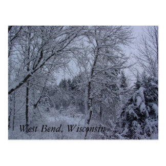 Wisconsin Winter Postcard