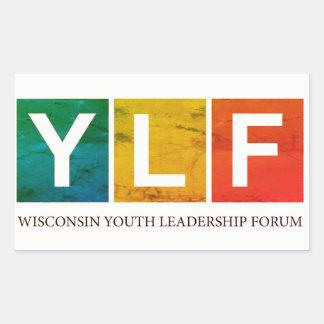 Wisconsin YLF Rectangular Sticker