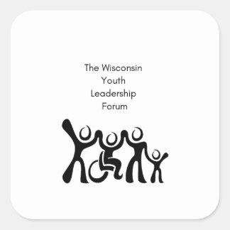 Wisconsin YLF Square Sticker