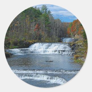 Wiscoy Creek Falls Sticker