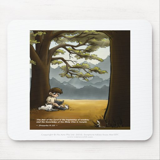 Wisdom and Knowledge Mousepad