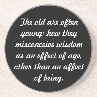 Wisdom Drink Coasters