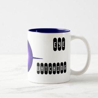 WISDOM EYE Two-Tone COFFEE MUG