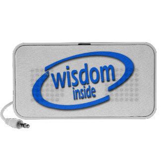 Wisdom Inside - Funny Intel Parody iPod Speakers
